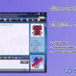 Windows Live Messenger Vista Dark-Blue Skin